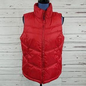 Like New Merona Red Puffer Vest